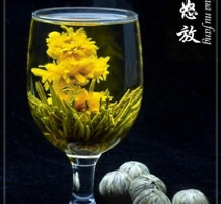 Blooming Tea Jin Hua Nu Fang
