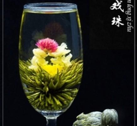 Blooming Tea Shuang Long Xi Zhu