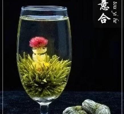 Blooming Tea Qing Tou Yi He
