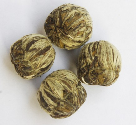 Blooming Tea Shuang Long Xi Zhu