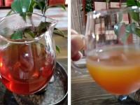 The Cream Down of Chinese Black Tea