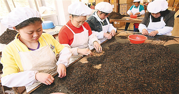 The Sorting of Lapsang Souchong