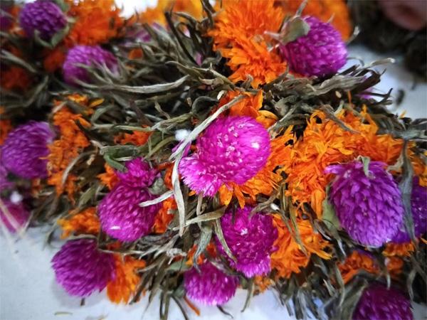 Blooming tea Processing 7