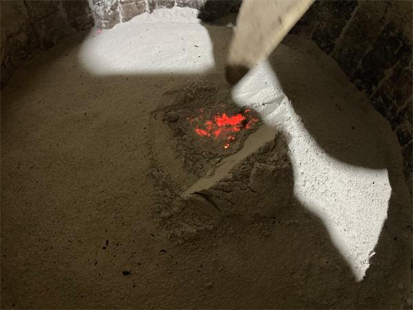 Charcoal Roasting of Organic Wuyi Lao Cong Shui Xian 1