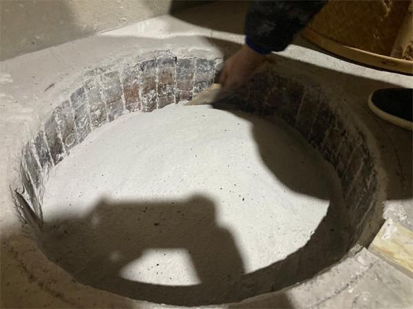 Charcoal Roasting of Organic Wuyi Lao Cong Shui Xian 2