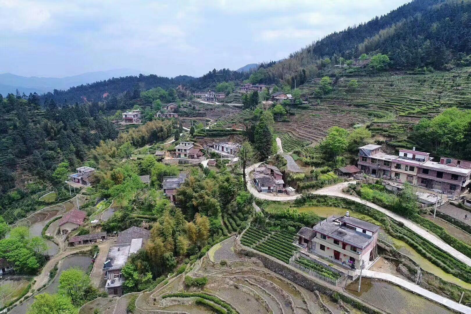 A Beautiful tea village in South Hunan