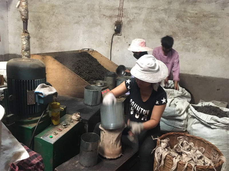 Pu-erh Tea Compression