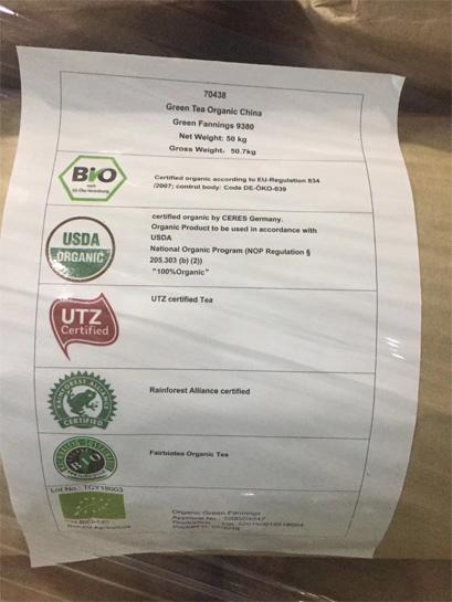 Fairtrade and Rainforest certified tea plant 5