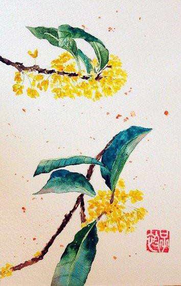 Dan Gui Piao Xiang-traditional Chinese picture