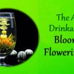 Blooming flowering tea